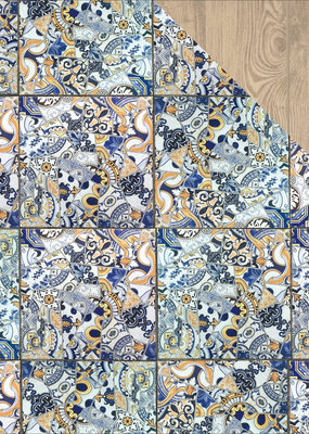 Kaiser Craft 12 x 12 Paper Mosaic Tile