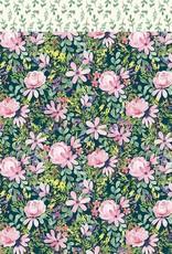 Echo Park Paper Co. 12 x 12 Paper Botanical Garden Daisy Corsage