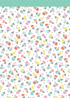 American Crafts 12x12 Paper Flower Child
