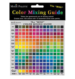 Magic Palette Color Mixing Guide Mini 8 X 6.25
