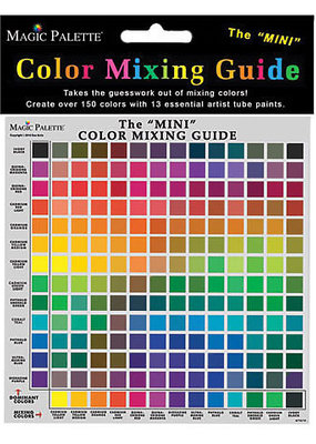 Magic Palette Color Mixing Guide Mini 8 X 6.25