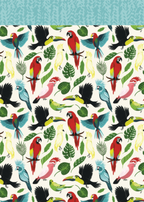 Echo Park Paper Co. 12 X 12 Paper Birds Of Paradise