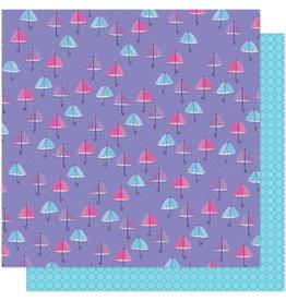 Shimelle 12 x 12 Paper Sparkle City Rainy Day