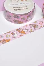 Noristudio Washi Kawaii Pink Unicorn Party