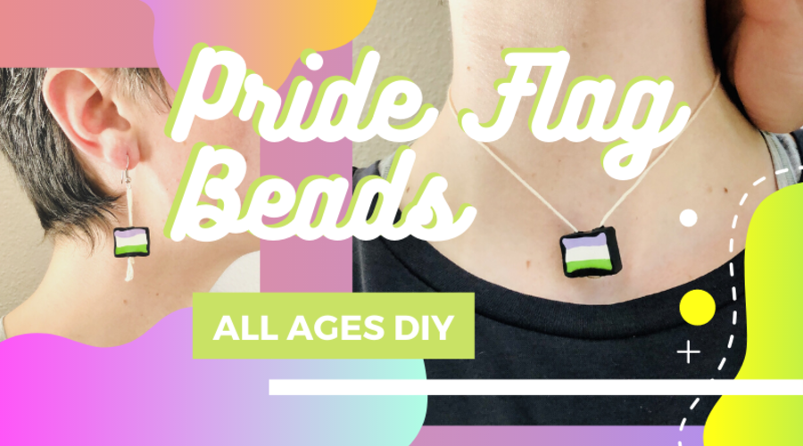 Craft Project: Pride Flag Beads
