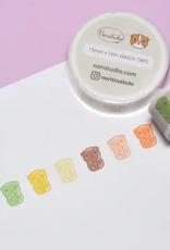 Noristudio Washi Colorful Gummy Guinea Pigs