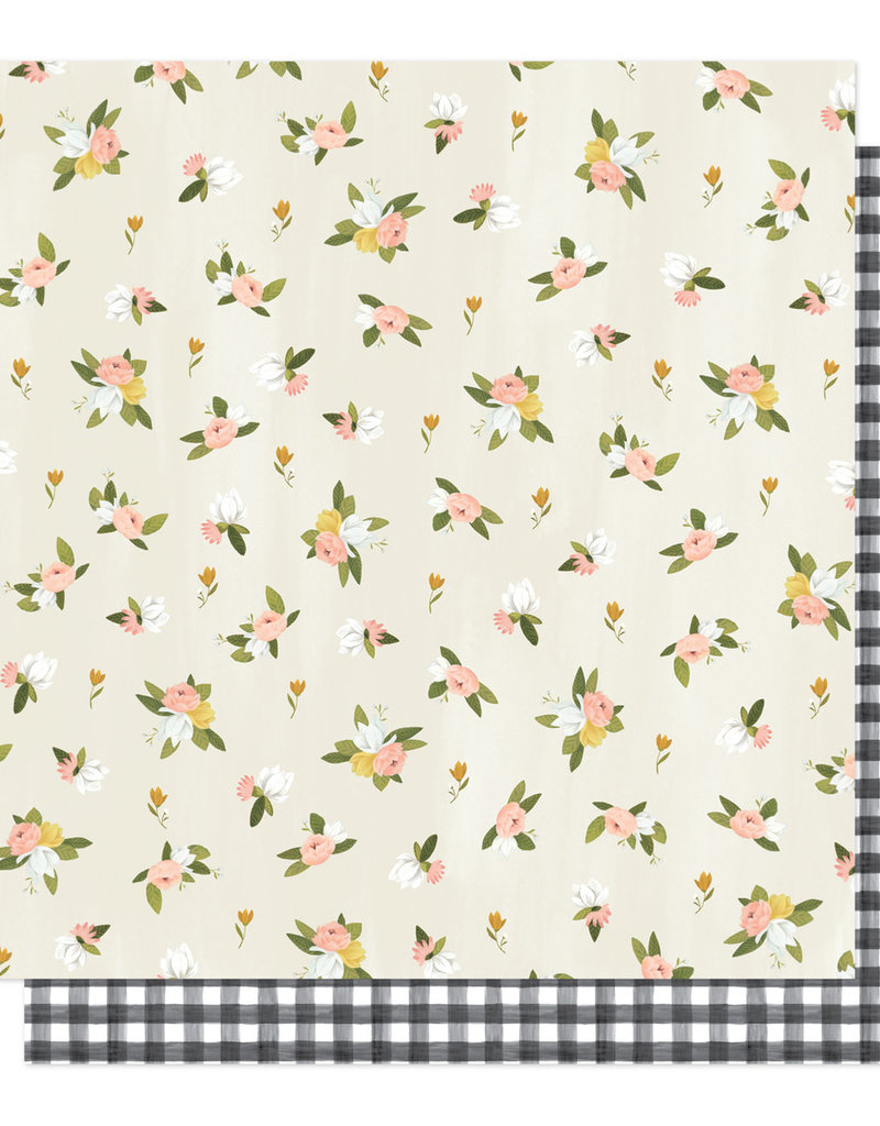 American Crafts 12 x 12 Paper Willow Posies