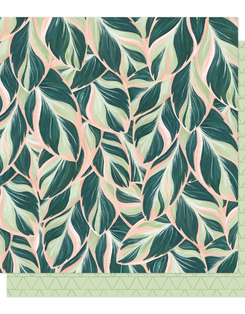 American Crafts 12 x 12 Paper Willow Lush