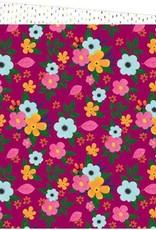 Amy Tangerine 12 x 12 Paper Slice Of Life Flower Power