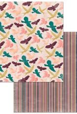 BoBunny 12 x 12 Paper Floral Spice Dreamer