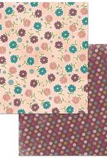 BoBunny 12 x 12 Paper  Floral Spice Wonderful