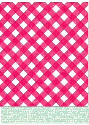 Crate Paper 12 X 12 Paper Main Squeeze Just Love