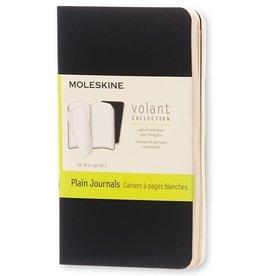 Moleskine Moleskine Volant Set of 2 Plain Black