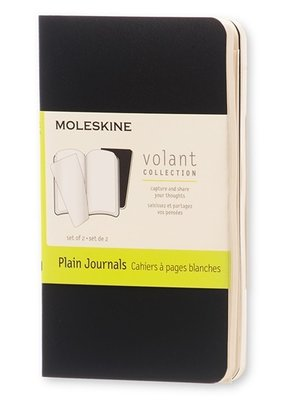 Moleskine Moleskine Volant Set of 2 Plain Black