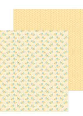 Doodlebug Design Inc. 12 X 12 Paper Bee Happy