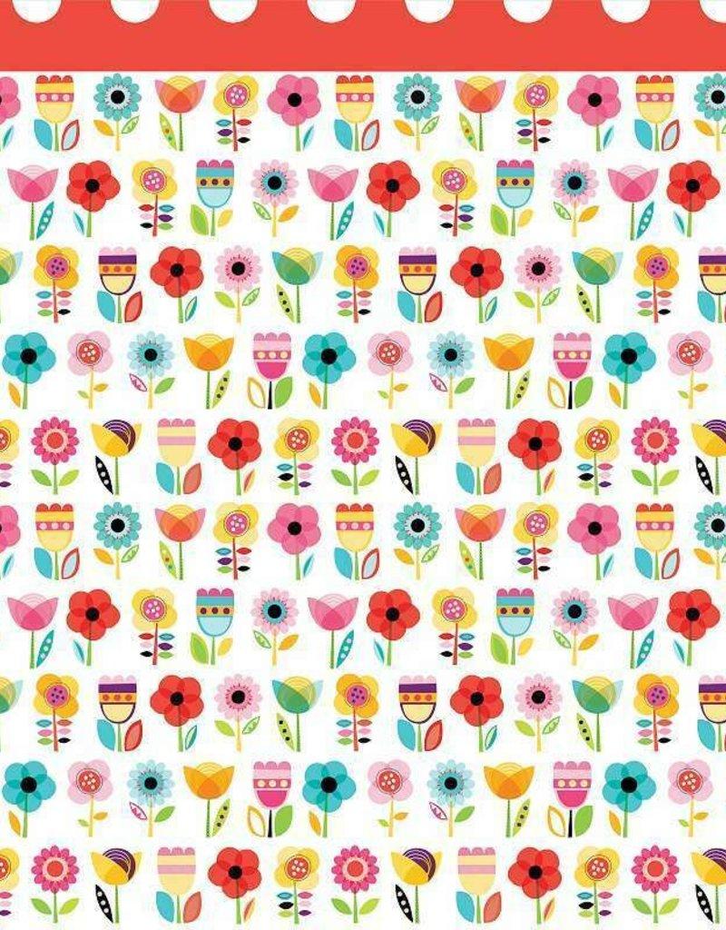 Doodlebug Design Inc. 12 X 12 Paper Flower Garden