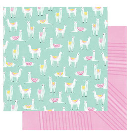 Heidi Swapp 12 x 12 Paper Llama Drama