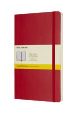 Moleskine Moleskine Classic Soft Cover Squared Red