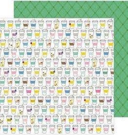 Jen Hadfield 12 x 12 Paper Sip Sip