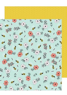 Jen Hadfield 12 x 12 Paper Bee Blossoms