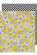 Jen Hadfield 12 x 12 Paper Yellow Roses