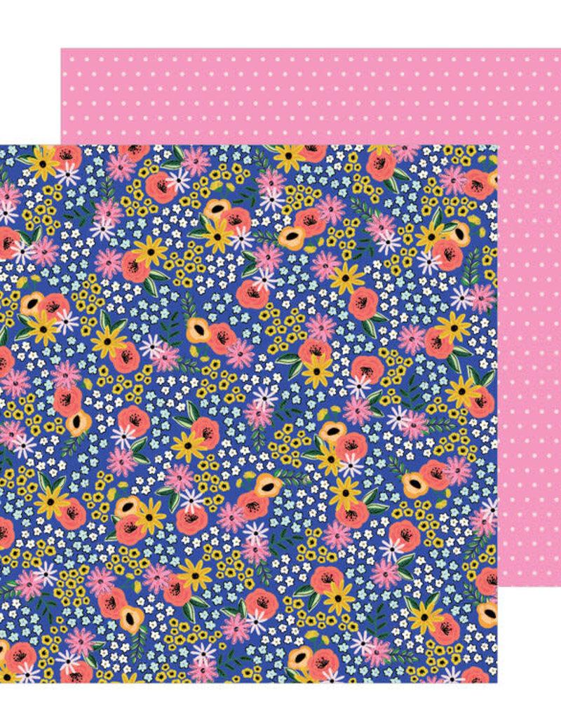 Jen Hadfield 12 x 12 Paper Flower Patch