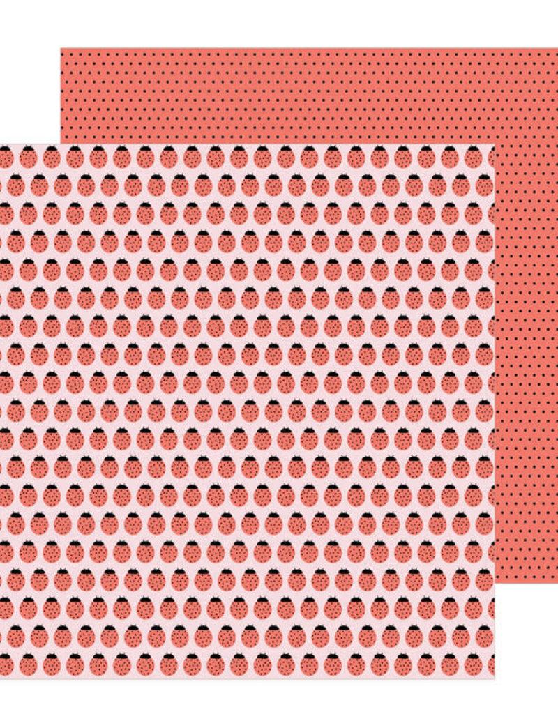 Jen Hadfield 12 x 12 Paper Ladybugs
