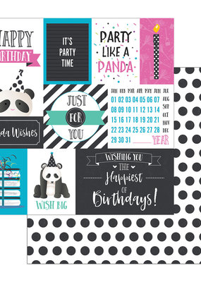 Photo Play Paper Company 12 X 12 Paper Panda Party Party Time