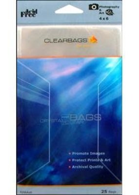 Clear Bags Clear Bags 4 x 6