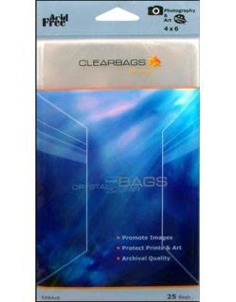 Clear Bags Clear Bags 4 x 6