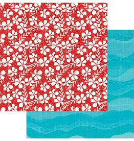 Photo Play Paper Company 12 x 12 Paper Aloha Salty Ocean