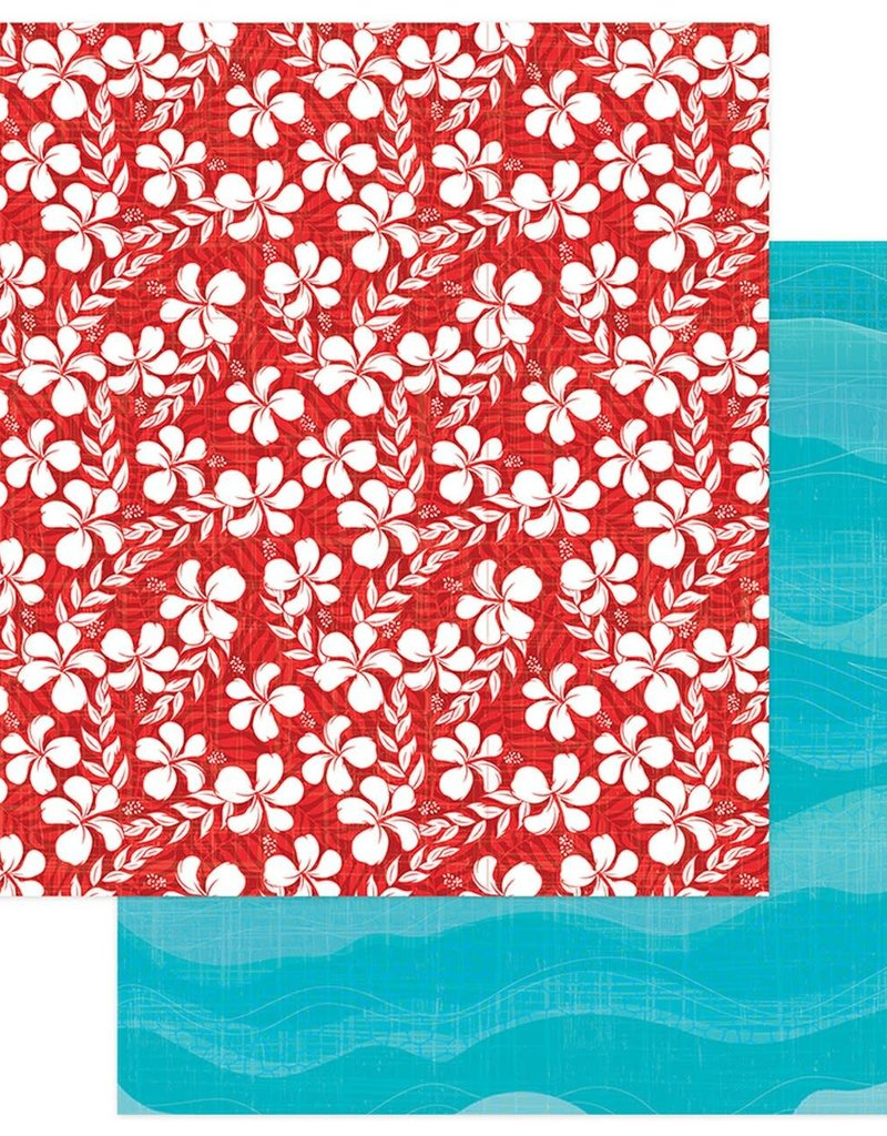 Photo Play Paper Company 12 x 12 Paper Aloha Salty Ocean