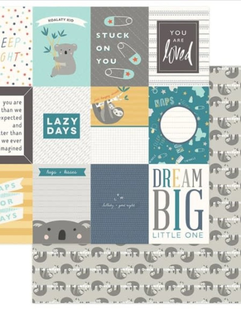 Photo Play Paper Company 12 x 12 Paper Snuggle Up Dream Big