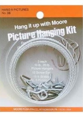 Moore Moore Picture Hanging Kit for Six Pictures