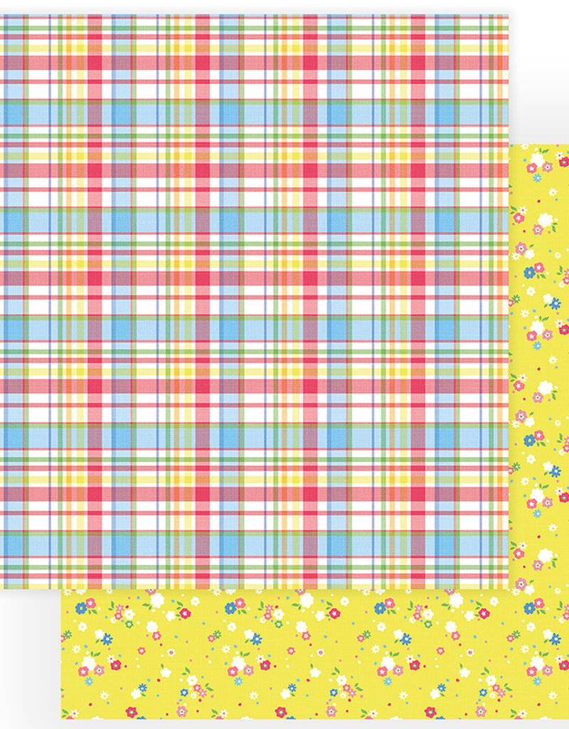 Photo Play Paper Company 12 x 12 Paper Spring Blossoms