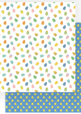 Photo Play Paper Company 12 x 12 Paper Easter Wishes Egg Hunt