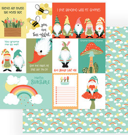 Photo Play Paper Company 12 x 12 Paper Tulla and Norbert Sunshine