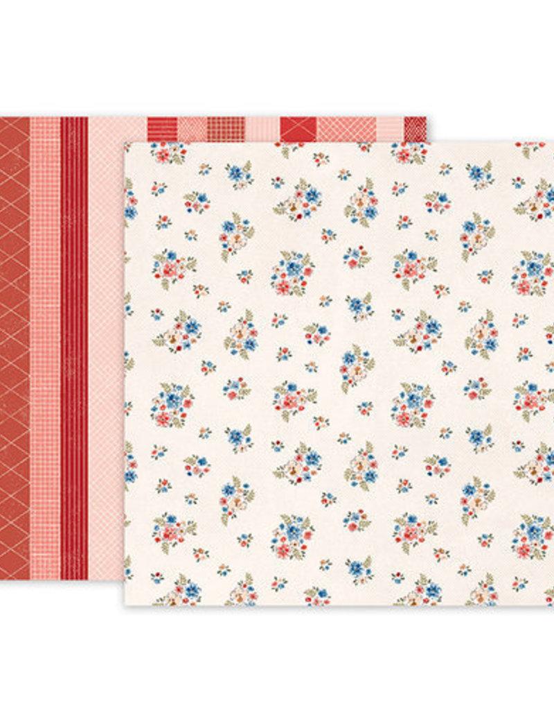 Pink Paislee 12 x 12 Paper Pink Paislee 05