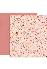 Pink Paislee 12 x 12 Paper Pink Paislee Again and Again 12