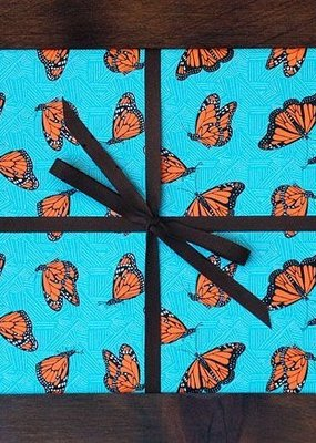 Noteworthy Wrap Sheet Monarch Butterflies