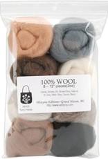 Wistyria Editions Wool Roving Multi Pack