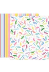 Pink Paislee 12 x 12 Paper Bloom Street 16