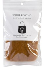 Wistyria Editions Wool Roving Single Pack Toffee