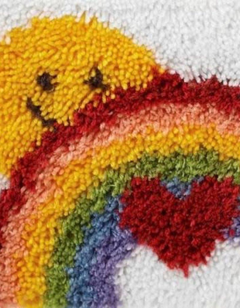 "Caron Wonderart Latch Hook Kit 12""X12"" Sunshine Rainbow"