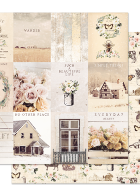 Prima Marketing 12x12 Paper Spring Farmhouse Simple Things