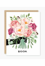 Party of One Card Boom Peonies