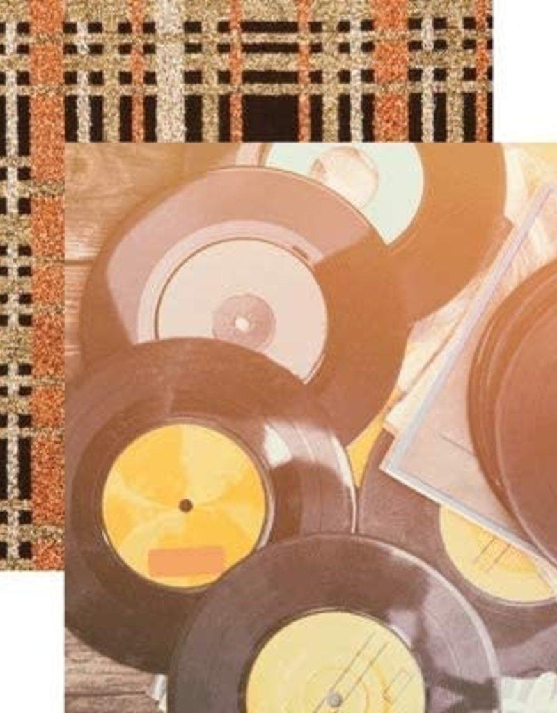 Reminisce 12 X 12 Paper Retro Vinyl Records
