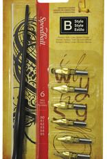 Speedball Calligraphy Pen Set B Style