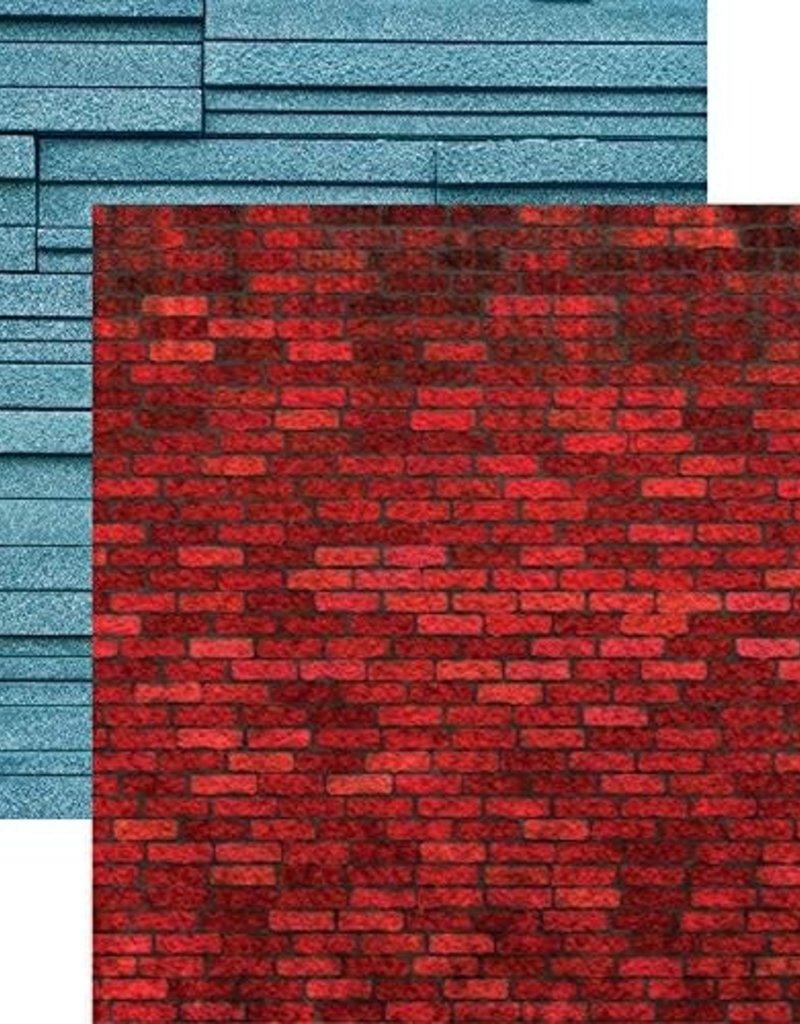 Reminisce 12 X 12 Paper Crimson Brick