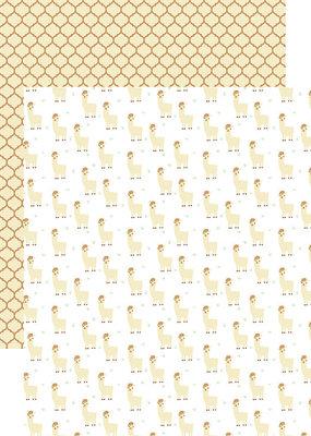 Reminisce 12x12 Paper Llama Love